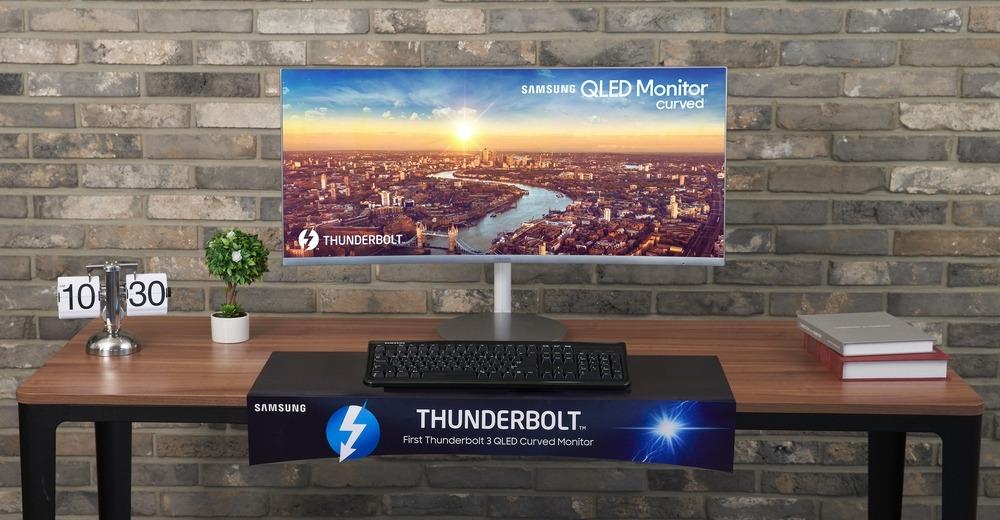 Samsung CJ79 1 - Samsung CJ79 e CJ89, novos monitores OLED curvos para a IFA 2018